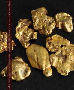 4.92gの小さく個性的な自然金7点セット-G0332-1