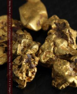 4.92gの小さく個性的な自然金7点セット-G0332-10