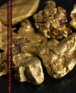 4.92gの小さく個性的な自然金7点セット-G0332-4