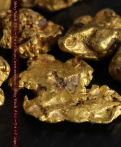 4.92gの小さく個性的な自然金7点セット-G0332-5