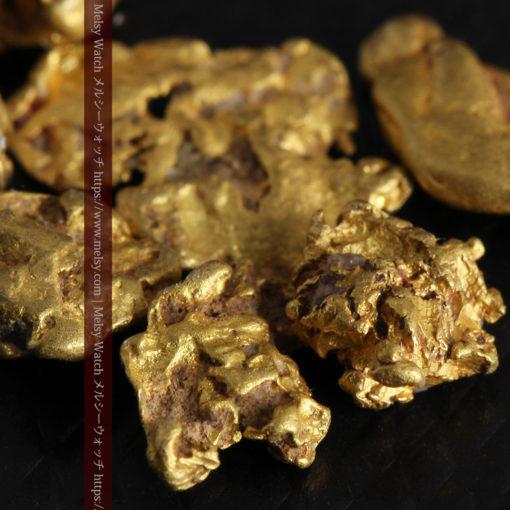 4.92gの小さく個性的な自然金7点セット-G0332-6