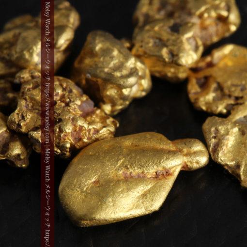 4.92gの小さく個性的な自然金7点セット-G0332-7