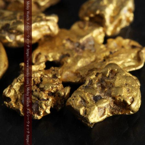 4.92gの小さく個性的な自然金7点セット-G0332-8
