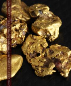 4.92gの小さく個性的な自然金7点セット-G0332-9