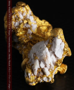 23.86gの凹凸や石英の入り方と形状の美しい大粒自然金-G0333-10