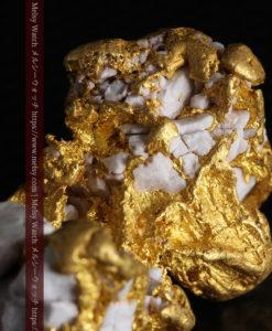 23.86gの凹凸や石英の入り方と形状の美しい大粒自然金-G0333-11