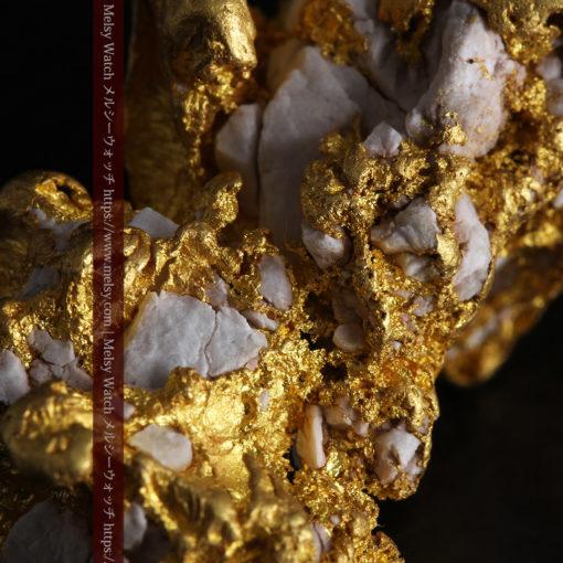 23.86gの凹凸や石英の入り方と形状の美しい大粒自然金-G0333-12