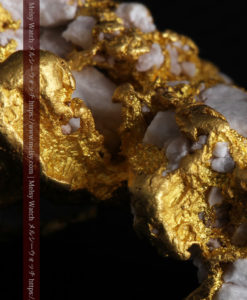 23.86gの凹凸や石英の入り方と形状の美しい大粒自然金-G0333-14