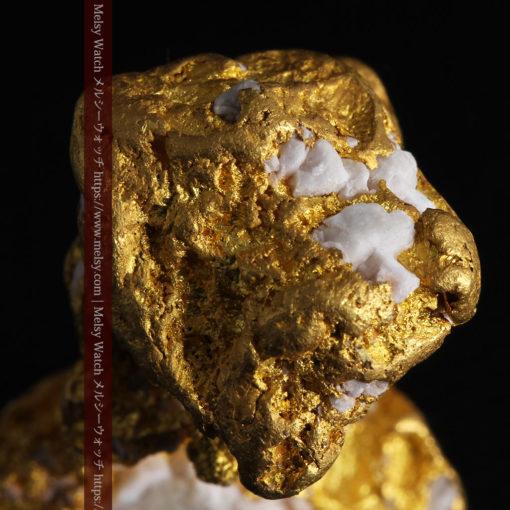 23.86gの凹凸や石英の入り方と形状の美しい大粒自然金-G0333-15