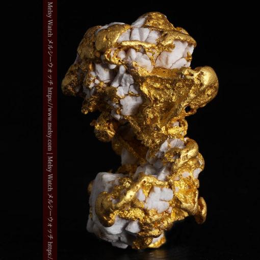 23.86gの凹凸や石英の入り方と形状の美しい大粒自然金-G0333-3