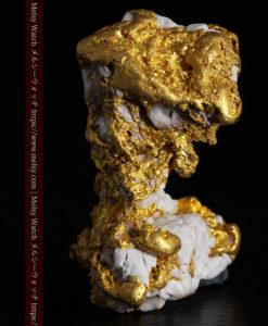 23.86gの凹凸や石英の入り方と形状の美しい大粒自然金-G0333-4