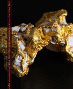 23.86gの凹凸や石英の入り方と形状の美しい大粒自然金-G0333-6