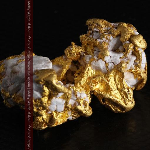 23.86gの凹凸や石英の入り方と形状の美しい大粒自然金-G0333-8