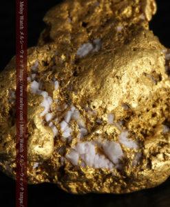 12.21gの形よい重量感ある大粒自然金-G0334-1