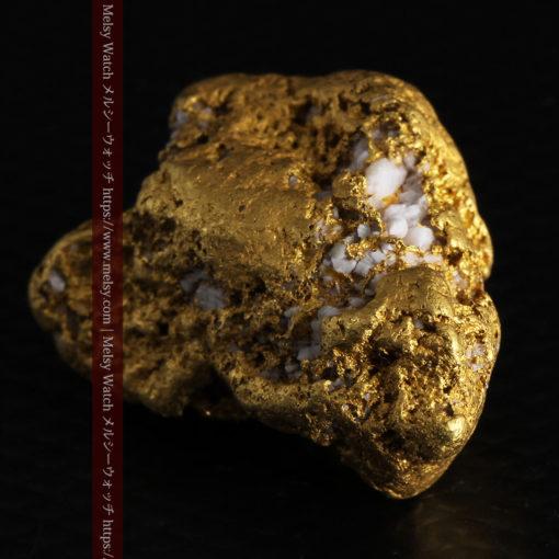 12.21gの形よい重量感ある大粒自然金-G0334-10