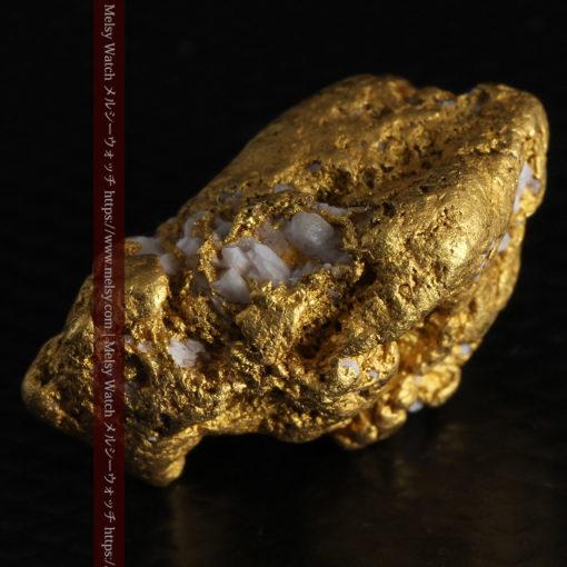 12.21gの形よい重量感ある大粒自然金-G0334-11