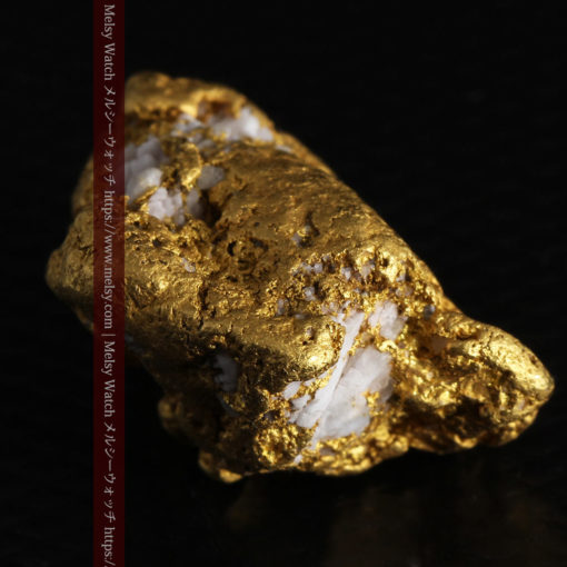 12.21gの形よい重量感ある大粒自然金-G0334-12