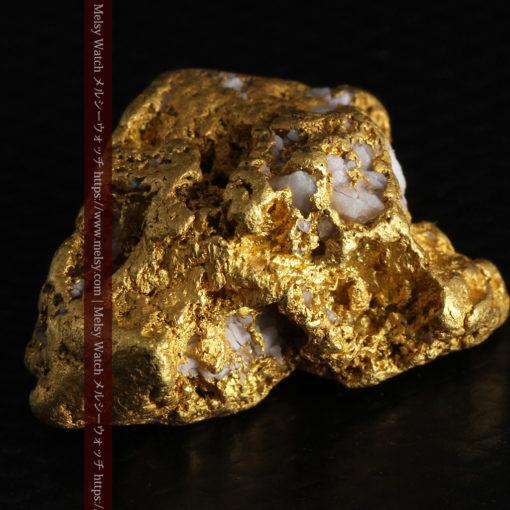 12.21gの形よい重量感ある大粒自然金-G0334-13