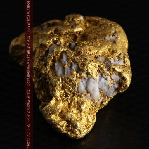 12.21gの形よい重量感ある大粒自然金-G0334-14
