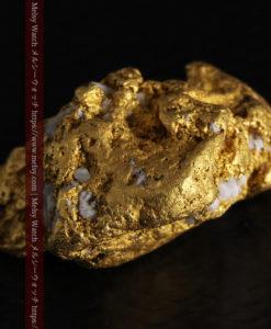 12.21gの形よい重量感ある大粒自然金-G0334-15