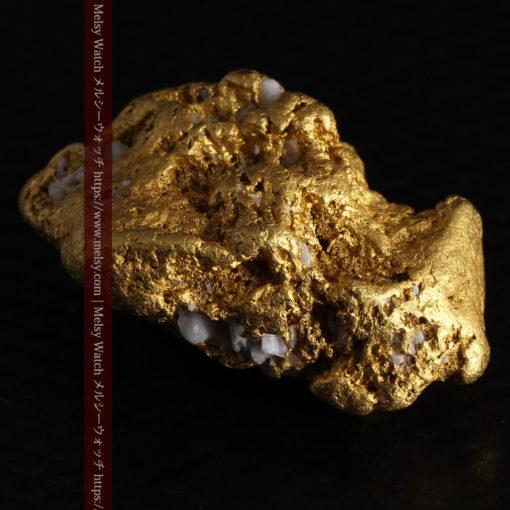 12.21gの形よい重量感ある大粒自然金-G0334-16