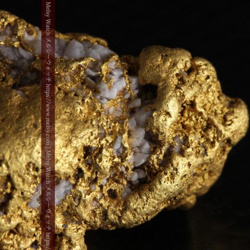 12.21gの形よい重量感ある大粒自然金-G0334-3