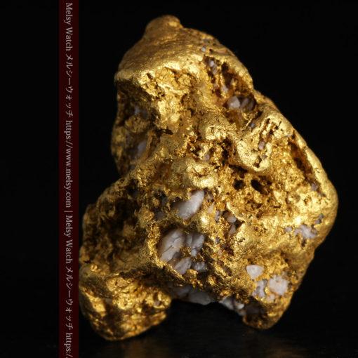 12.21gの形よい重量感ある大粒自然金-G0334-5
