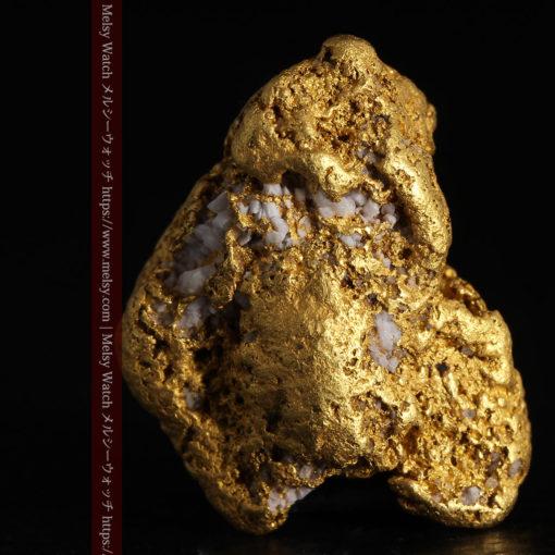12.21gの形よい重量感ある大粒自然金-G0334-6