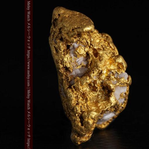 12.21gの形よい重量感ある大粒自然金-G0334-7