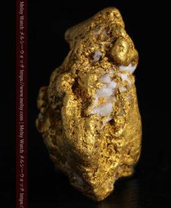 12.21gの形よい重量感ある大粒自然金-G0334-8