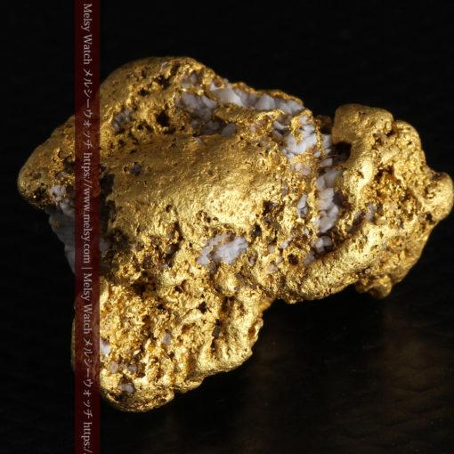 12.21gの形よい重量感ある大粒自然金-G0334-9