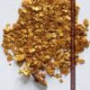 2.57gの小さな砂金・薄片金とやや粒の大きな自然金2点-G0335-1