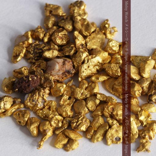 4.41gの小さな粒の自然金セット-G0341-1