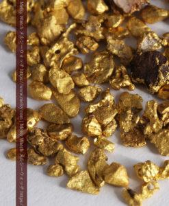 4.41gの小さな粒の自然金セット-G0341-2