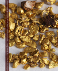 4.41gの小さな粒の自然金セット-G0341-3