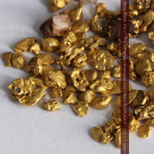 4.41gの小さな粒の自然金セット-G0341-4
