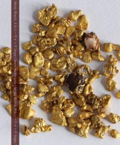 4.41gの小さな粒の自然金セット-G0341-8