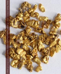 4.17gの小さな粒の自然金セット-G0342-1