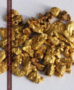 4.13gの小さな粒の自然金セット-G0343-2