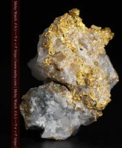 3.98gの石英との組み合わせが美しい繊細な自然金-G0345-1