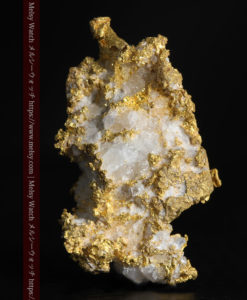 6.62gのキラキラと煌めくような輝きに包まれる自然金-G0346-2