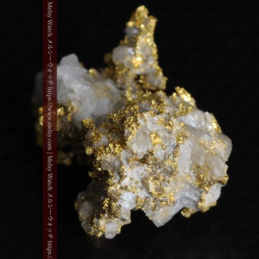 4.22gの非常に綺麗な立体感ある石英と自然金-G0348-10
