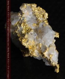 4.22gの非常に綺麗な立体感ある石英と自然金-G0348-12