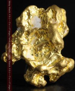 4.26gの明るい色合いと起伏の綺麗な自然金-G0350-1