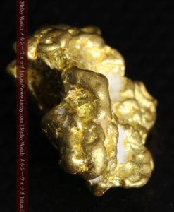 4.26gの明るい色合いと起伏の綺麗な自然金-G0350-10
