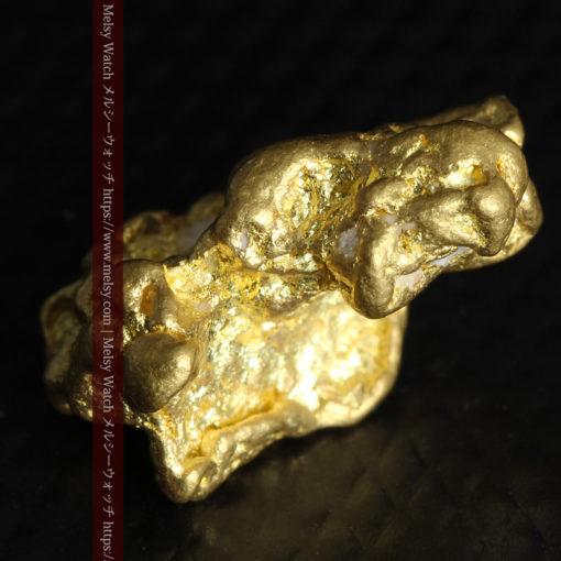 4.26gの明るい色合いと起伏の綺麗な自然金-G0350-12