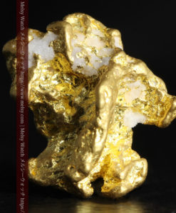 4.26gの明るい色合いと起伏の綺麗な自然金-G0350-2