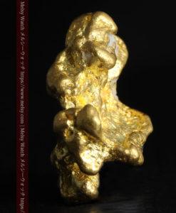 4.26gの明るい色合いと起伏の綺麗な自然金-G0350-4