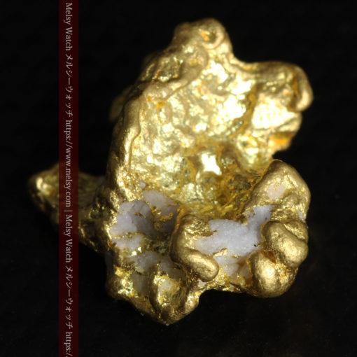 4.26gの明るい色合いと起伏の綺麗な自然金-G0350-5