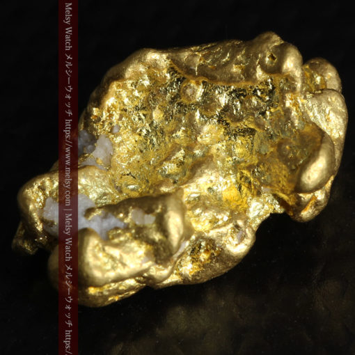 4.26gの明るい色合いと起伏の綺麗な自然金-G0350-6